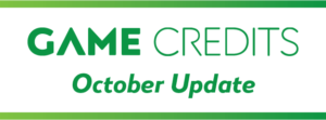 GAME CREDITS October 2020 Update