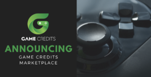 ANNOUNCING – The GAME Credits Marketplace
