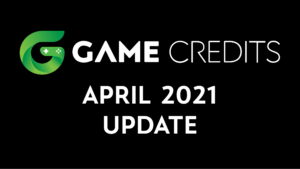 GAME Credits April 2021 Update