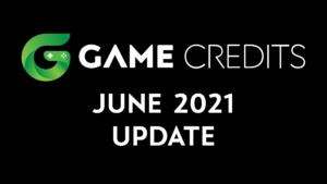 GAME Credits June 2021 Update